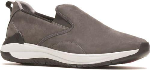 Hush Puppies Felix Slip On Slip On Mens Shoes Dark Grey